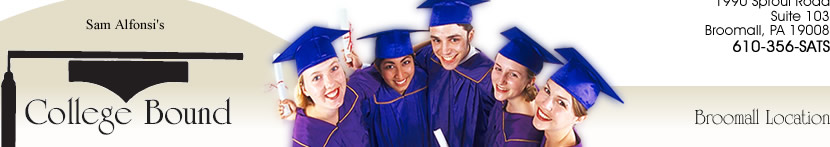 Sam Alfonsi 's College Bound Learning Center Broomall, PA